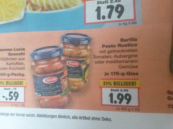 [Kaufland BY + Scondoo] Barilla Pesto Rustico für 0,99€