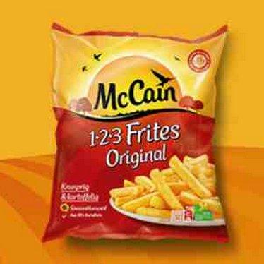[HIT BUNDESWEIT / KAUFLAND BY/BW] McCain 1-2-3 Frites Original 750g für 0,61€ (Angebot+Coupon)