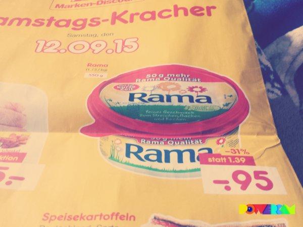 [Netto MD] Rama Margarine am Samstag 12.09 für 0,95€