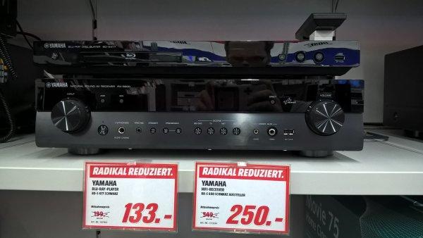 Av Receiver Yamaha RX S 600  LOKAL Mediamarkt B-Wilmersdorf