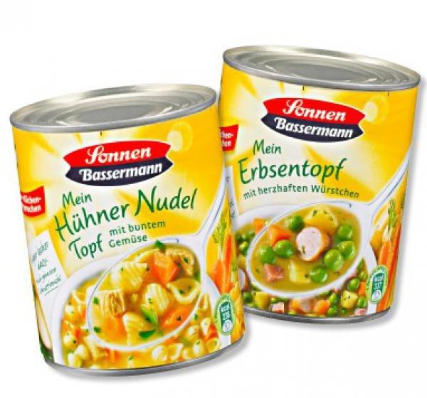 Sonnen-Bassermann Eintopf 800g nur 1€!!! Famila NO