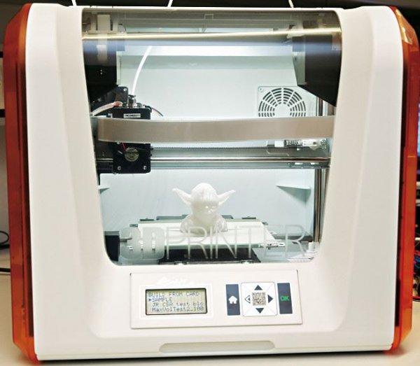 [Stern-Aktion] Da Vinci Junior 3D-Drucker, zusätzlich 2 Spulen Druckmaterial, Preisvorteil 70 Euro.