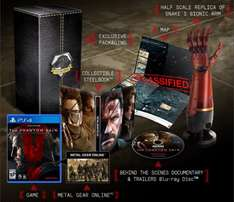 METAL GEAR SOLID THE PHANTOM PAIN - COLLECTORS PS4