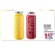 [Metro] true fruits Smoothies 250 ml brutto 1,70€  (1,43€ netto)