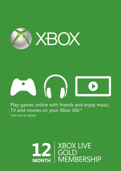 [cdKeys] 12 Monate Xbox Live Gold