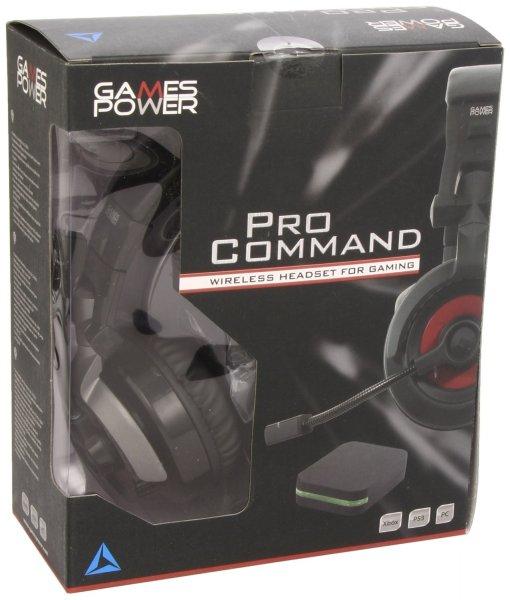 Wireless Headset / Games Power Pro Command [PC, X360 und PS3] / @Amazon