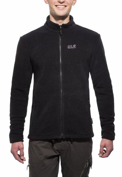 Jack Wolfskin Thunder bay Fleece Gr. M schwarz für 33,55€ inkl. Versand