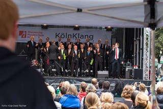 Köln ( Schildergasse)  : KölnKlang 2015 - Open Air Konzert am 12.9.2015  ab 10 Uhr - Eintritt frei