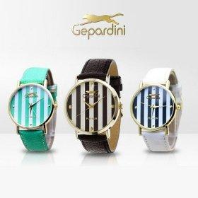 Gepardini Stripes Uhr für nur €8,99 + Versand