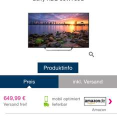Sony TV Amazon Tages Angebot