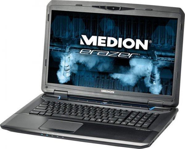 Medion Erazer X7833, Core i7-4710MQ, GTX 970M, 16GB RAM,128GB SSD, 1TB HDD, Blu-ray, 17,3 Zoll Full-HD matt, Windows 8.1 für 1.399€ bei Rakuten/Medion [+ 349,75€ Superpunkte]