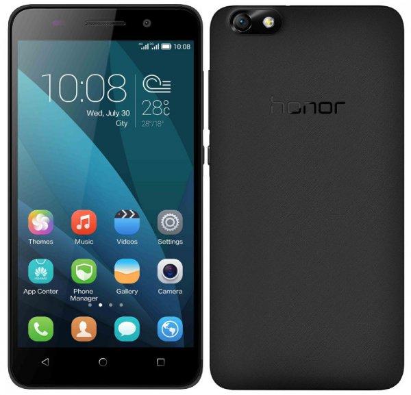 [amazon.de] Honor 4X Smartphone (LTE Dual-SIM, 5,5 Zoll HD-Display, Octa-Core-Prozessor, 13 Megapixel-Kamera, 8 GB interner Speicher, Android 4.4) schwarz für 192,94€