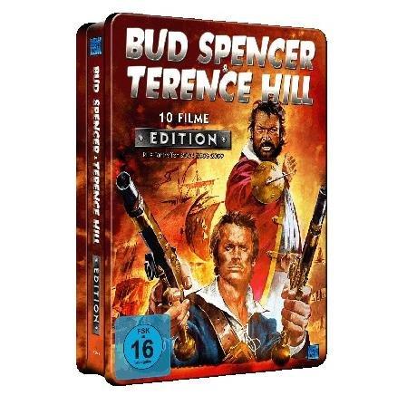 Bud Spencer & Terence Hill (10 Filme) Sammler Metallbox für 14,98€