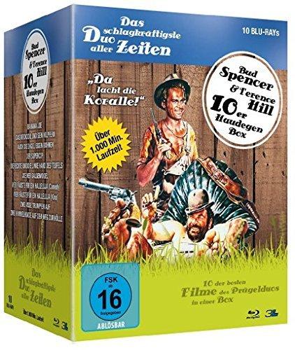 [MediaDealer] Bud Spencer & Terence Hill - Haudegen-Box (10 x Blu-ray) für 39,76€ inc. Versand