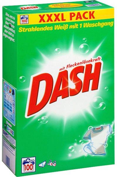 DASH XXXL Waschmittel bei Kaufland: 100 Wäschen nur 8,99 Euro - weniger als 9 cent pro Ladung - VGP ca 12-15 Euro