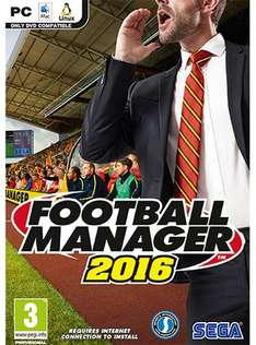 [Steam] Football Manager 2016 PC/Mac für 27,27€ @ CDKeys (PRE-Order)
