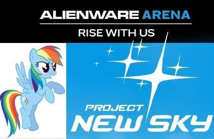 """Project New Sky"" (Closed Beta Key / Alienwarearena.com)"