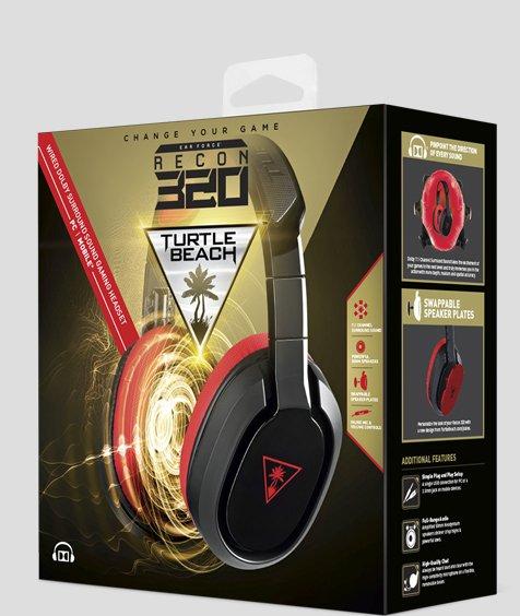 Turtle Beach / Recon 320 Wired PC Gaming Headset 7.1-Kanal  Surround Sound / @EBAY.de
