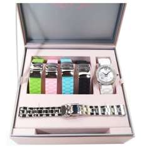 (onedealoneday) PARIS HILTON SET Uhr mit 5 Armbänder - PH11687M UVP 299,--