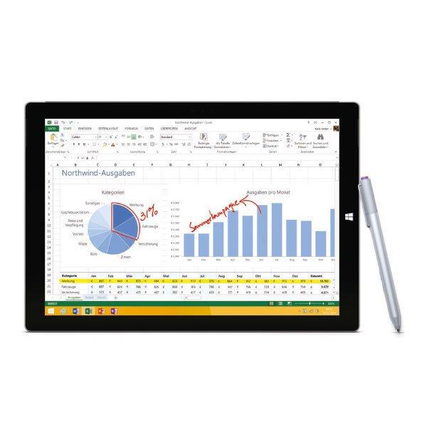 Microsoft Surface Pro 3 64GB, Windows 8.1 Pro  für 799€ bei Rakuten/deltatecc [+ 199,75€ Superpunkte]