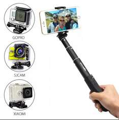 [Banggood App] BlitzWolf™ Mini  Ultimate 4 Button Bluetooth Extendable Aluminium Selfie Stick Monopod