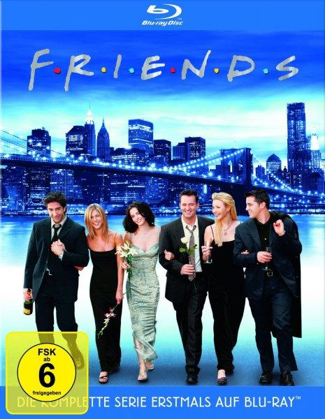 Friends - Die komplette Serie [Blu-ray] für 60,47€ @Amazon.fr
