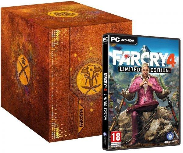 Amazon UK WHD Far Cry 4 PC Kyrat Edition ab  31 € inc. VSK