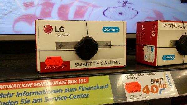 Webcam für ältere LG Fernseher AN-VC400 (Lokal @ Real Würzburg, Nürnbergerstrasse)