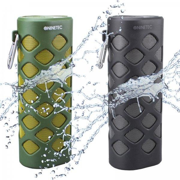 NINETEC Oxygen 2in1 Outdoor Bluetooth NFC Speaker Lautsprecher mit PowerBank, 39,99 EUR @ ebay