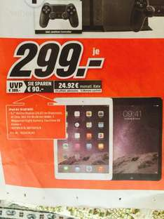 Media Markt (Lokal Essen) iPad Air Wifi 16 GB für 299