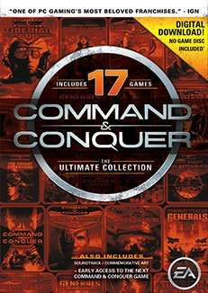 Command and Conquer Ultimate Collection - 17 Spiele im Paket [Origin Mexico]