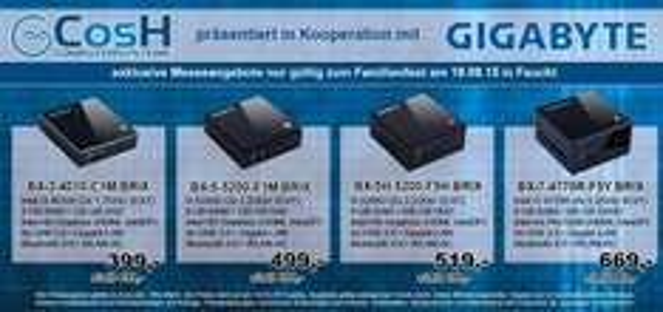 BRIX voll ausgestattet! (i3 4GB SSD, i5 8GB SSD bzw. HDD, i7 8GB SSHD Varianten)