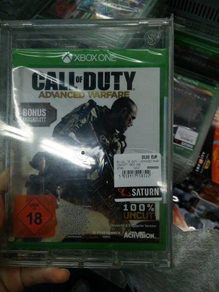 Lokal Saturn MyZeil FFM CoD Adwanced Warefare für die Xbox One