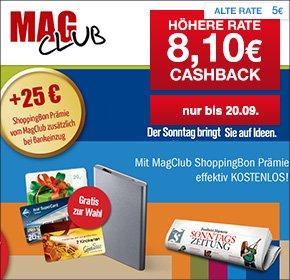 [Qipu] 3 Monate Frankfurter Allgemeine Sonntagszeitung für 44,10€ lesen und 20€ ARAL Takgutschein + 25€ ShoppingBon + 8,10€ Cashback erhalten