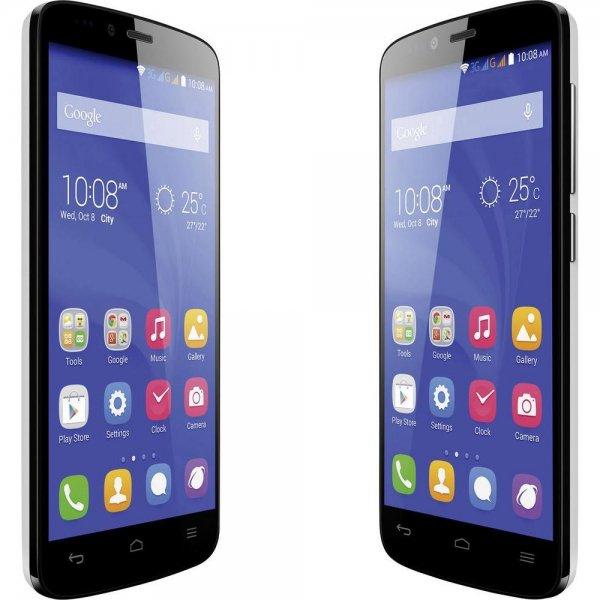 Huawei Honor Holly - 5'' HD IPS Display, Dual Sim, 4x 1,3 GHz Quadcore, 1GB RAM, 16GB Speicher (erweiterbar), Android 4.4 für 92,49€ @Conrad.de