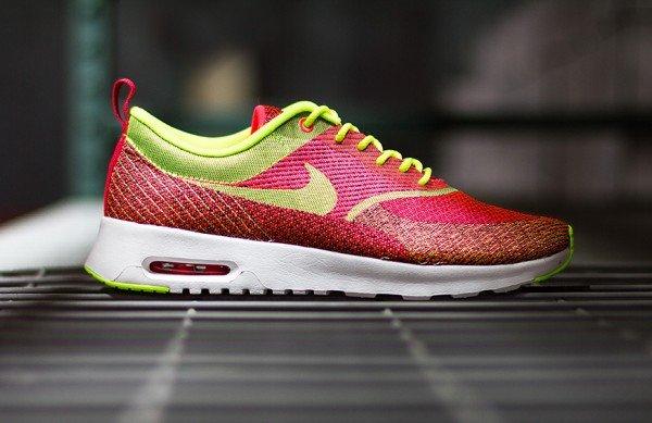 Schuhe Sneaker Damen Damen Nike Air Max Thea JCRD QS hyper punch/volt 666545 607 New (Schuhgröße: 35,5)@SNIPES