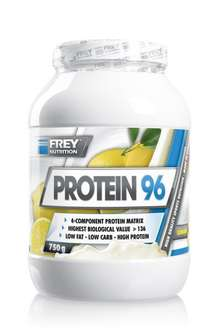 [Amazon-Marktplatz]Frey Nutrition Protein 96 Lemon Dose, 1er Pack (1 x 750 g)