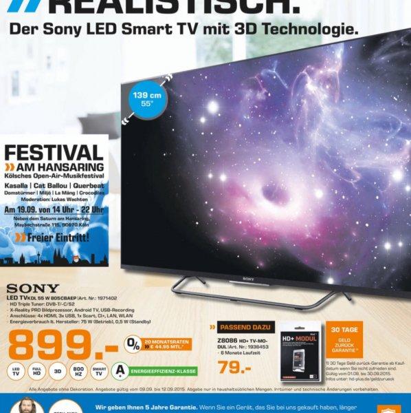 Sony TV KDL 55 W 805C @Saturn Köln (Lokal)
