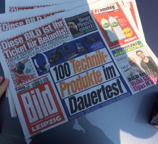 Belantis Leipzig Eintritt frei mit Bild Zeitung
