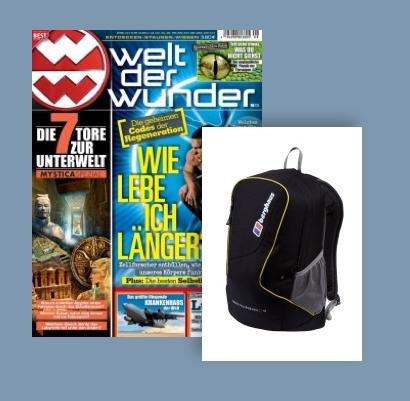 Berghaus® Rucksack + selbst ist der Mann 6 Monate für 20,40€