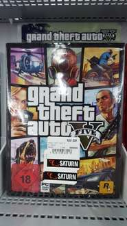 [Saturn] Lokal Chemnitz Center GTA 5 (PC) für 19 Euro