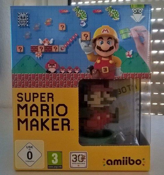 [FRANKREICH OFFLINE] Super Mario Maker + Amiibo + Artbook bei Carrefour für 44,90 Euro