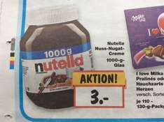 [Lokal Berlin] Kaufland Nutella 1kg Glas (Do-Sa)
