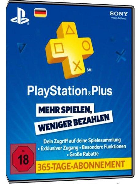 [MyToys.de] Nur für Neukunden..PlayStation Plus Mitgliedschaft - 365 Tage für 42,94€ inc. Versand