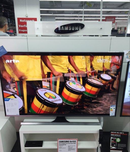 [Lokal MM Stuttgart Feuerbach] Samsung UE 55 JU 7090 für effektiv 1259,66€