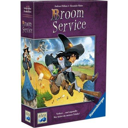 Alea Ravensburger 26917 - Broom Service, Brettspiel, Kennerspiel des Jahres 2015 für 19,99€ @ ZackZack