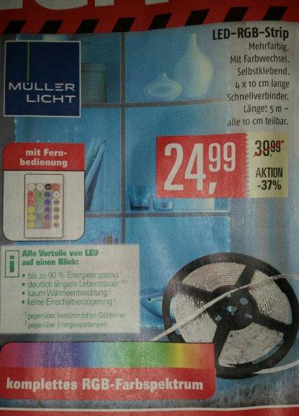 [Marktkauf Stade] lokal? Müller licht RGB Led Strip 5 Meter 24,99€