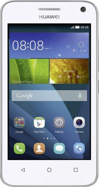 [Digitalo] Huawei Y3 Dual-SIM (4'' WVGA IPS, 1,3 GHz Quadcore, 1GB RAM, 4GB intern, GPS/Glonass, Android 4.4) für 68,22€ versandkostenfrei + 3% Cashback