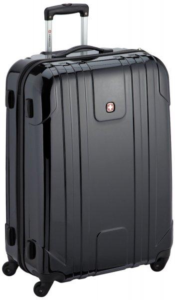 UPDATE! Wenger Koffer EVO Lite, 75 cm, 94 Liter, schwarz, Reisekoffer, Reisetrolley, 33% unter Idealo