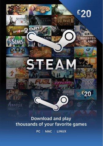 [Steam] Guthaben Karte 20 Pfund (für 23,09€) @ cdkeys.com